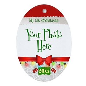 first christmas ornaments cafepress