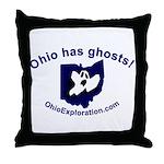Got Ghosts Throw Pillow