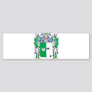 Gallo Coat of Arms (Family Crest) Bumper Sticker