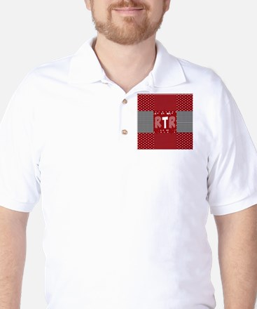 RTR houndstooth Golf Shirt