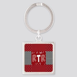 RTR houndstooth Keychains