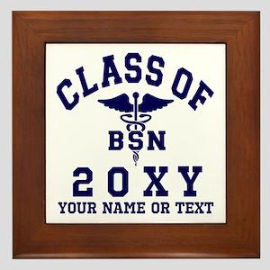 Class of 20?? Nursing (BSN) Framed Tile