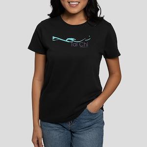 Tai Chi Wave 2 Women's Dark T-Shirt