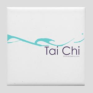 Tai Chi Wave 2 Tile Coaster