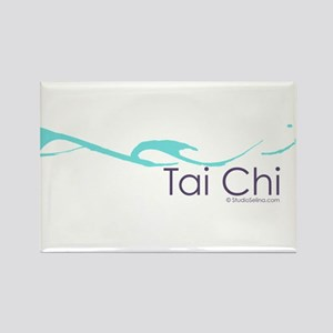 Tai Chi Wave 2 Rectangle Magnet