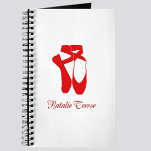 Team Pointe Ballet Hearts Personalize Journal