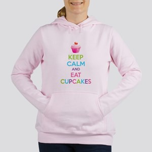 Keep calm and eat cupcake Sweatshirt