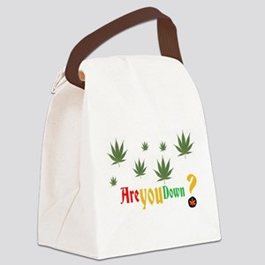 Are you down? Canvas Lunch Bag