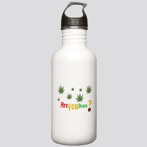 Are you down? Stainless Water Bottle 1.0L
