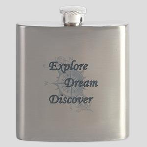 Explore. Dream. Discover. 2 Flask