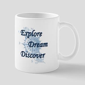 Explore. Dream. Discover. 2 Mugs