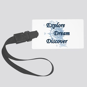 Explore. Dream. Discover. 2 Luggage Tag