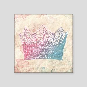 Sweet Pastel Crown Sticker