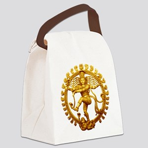 Shiva - Cosmic Dancer Canvas Lunch Bag