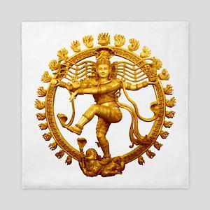 Shiva - Cosmic Dancer Queen Duvet