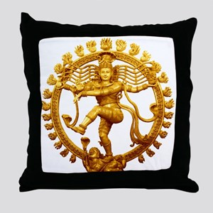 Shiva - Cosmic Dancer Throw Pillow