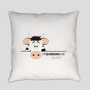 Mooooove Over! Everyday Pillow