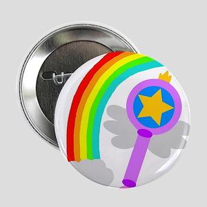 "Rainbow Wand 2.25"" Button"