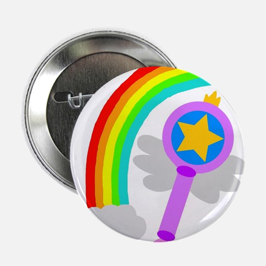 "Rainbow Wand 2.25"" Button"