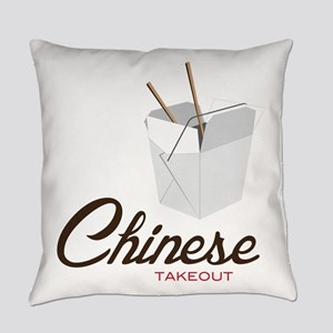 Chinese Takeout Everyday Pillow
