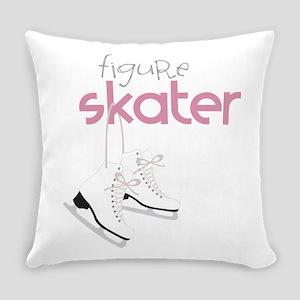 Figure Skater Everyday Pillow