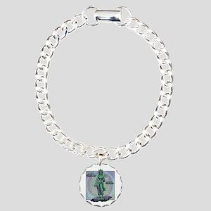 Tara Goddess Bodhissatva Charm Bracelet, One Charm