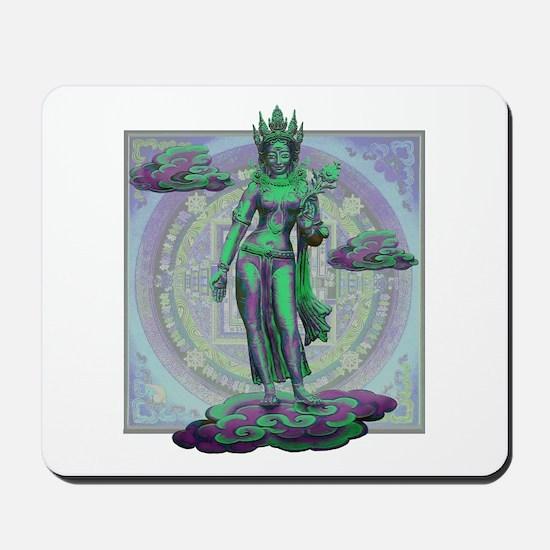 Tara Goddess Bodhissatva Mousepad