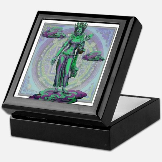 Tara Goddess Bodhissatva Keepsake Box