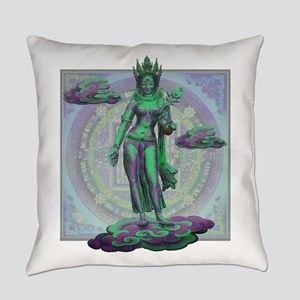 Tara Goddess Bodhissatva Everyday Pillow