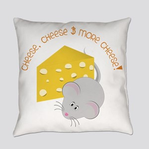 Cheese Everyday Pillow