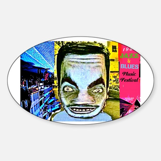 1988 Jazz Festival Sticker (Oval)