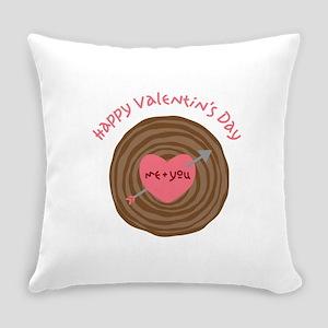 Happy Valentines Day Everyday Pillow