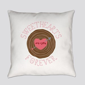 Sweethearts Forever Everyday Pillow