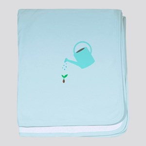 Watering Can baby blanket