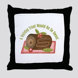 Holiday Treat Throw Pillow
