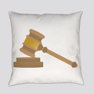 Judges Gavel Everyday Pillow