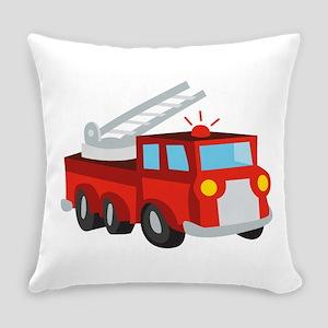 Fire Truck Everyday Pillow