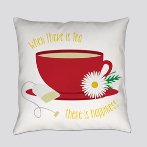 Tea Is Happiness Everyday Pillow