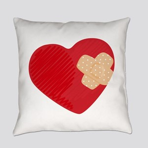 Heart Bandage Everyday Pillow