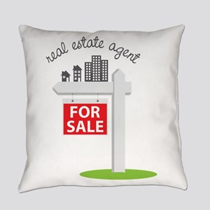 Real Estate Agent Everyday Pillow