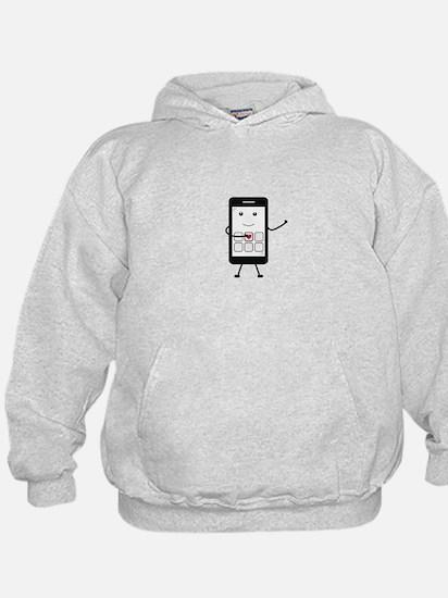 Friendly Smartphone Hoodie