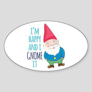 Happy Gnome Sticker