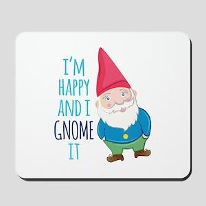 Happy Gnome Mousepad