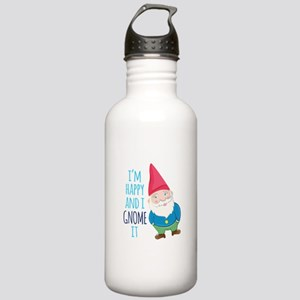 Happy Gnome Water Bottle