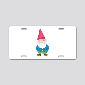 Gnome Aluminum License Plate