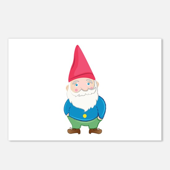 Gnome Postcards (Package of 8)