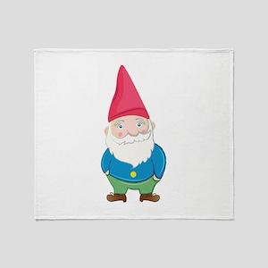 Gnome Throw Blanket