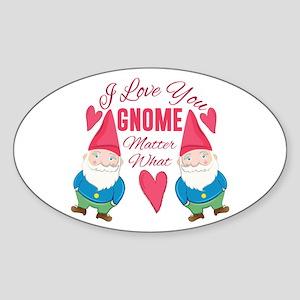 Love You Gnome Sticker