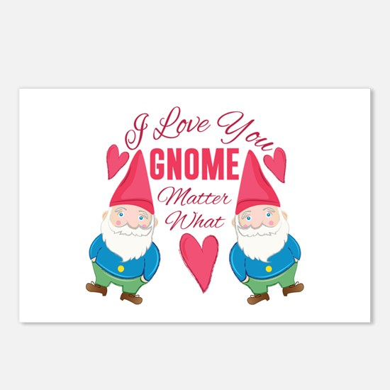 Love You Gnome Postcards (Package of 8)