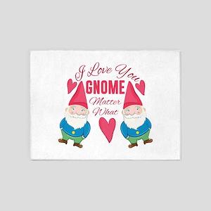 Love You Gnome 5'x7'Area Rug